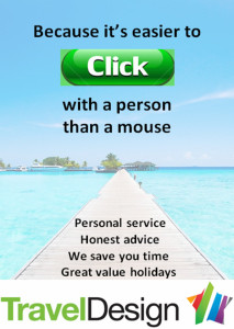click with a person not with a mouse